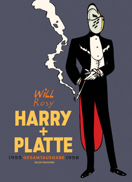 Harry und Platte Gesamtausgabe  – 1955-1958  - Das Cover