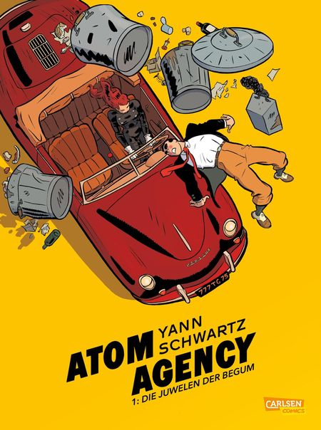 Atom Agency 1 - Das Cover