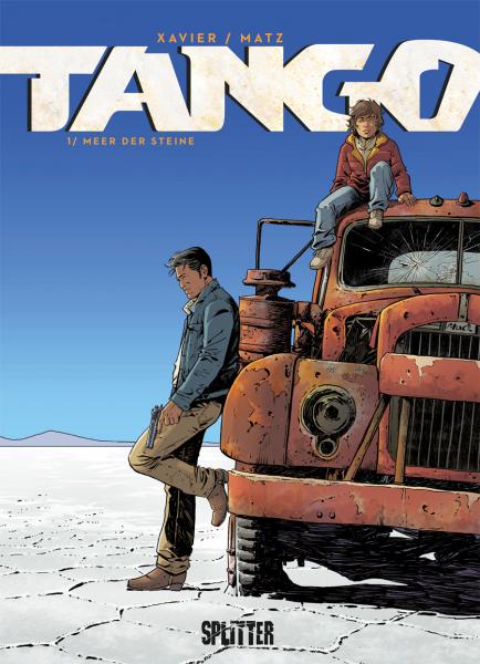 TANGO Bd. 1 - MEER DER STEINE - Das Cover