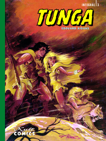 Tunga – Integral 3 - Das Cover