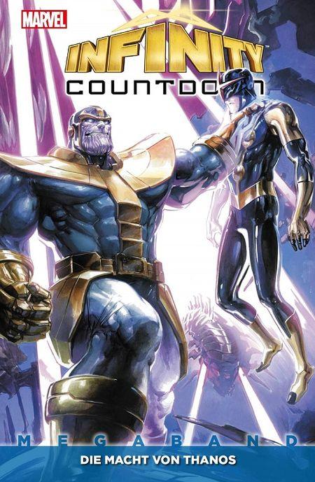 Infinity Countdown Megaband: Die Macht von Thanos - Das Cover