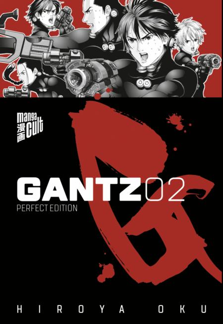Gantz – Perfect Edition 2 - Das Cover