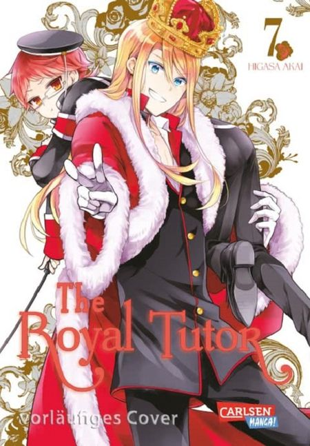 The Royal Tutor 7 - Das Cover