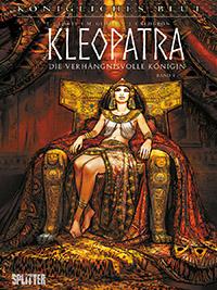 Königliches Blut 9: Kleopatra - Die verhängnisvolle Königin 1 - Das Cover