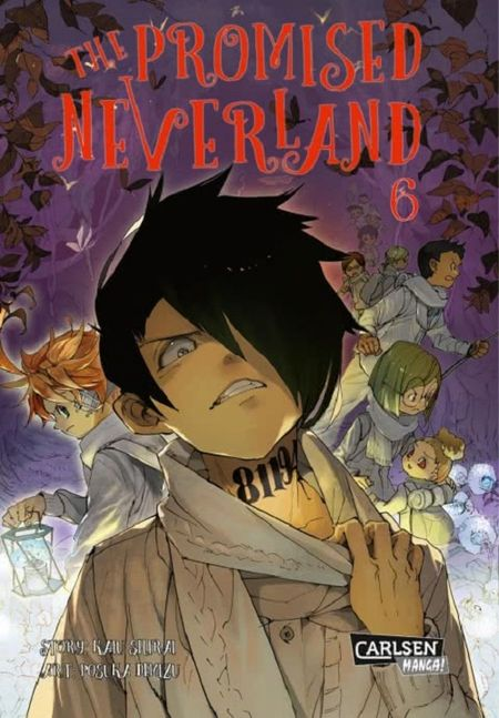 The Promised Neverland 6 - Das Cover