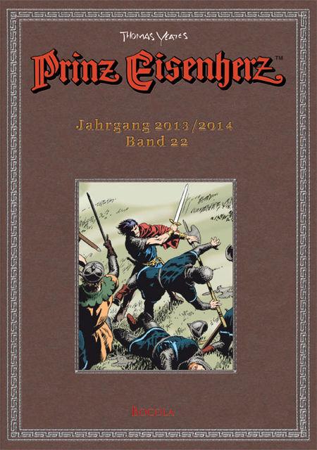 Prinz Eisenherz 22. Yeates Jahre Jahrgang 2013/2014  - Das Cover