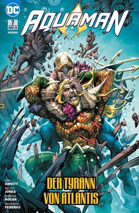 Aquaman 7: Der Tyrann von Atlantis  - Das Cover