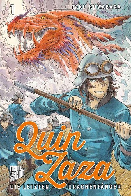 Quin Zaza – Die letzten Drachenfänger 1  - Das Cover