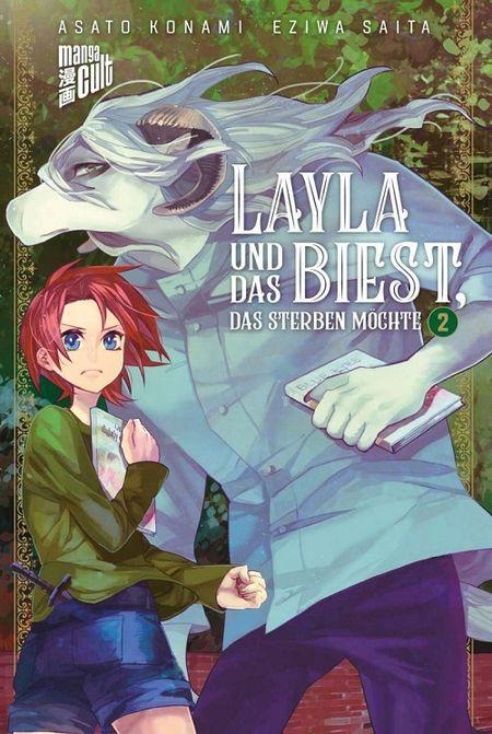 Layla und das Biest, das sterben möchte 2 - Das Cover
