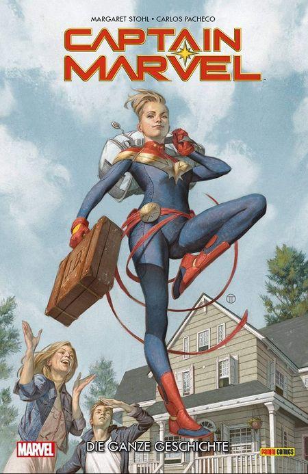 Captain Marvel – Die ganze Geschichte - Das Cover