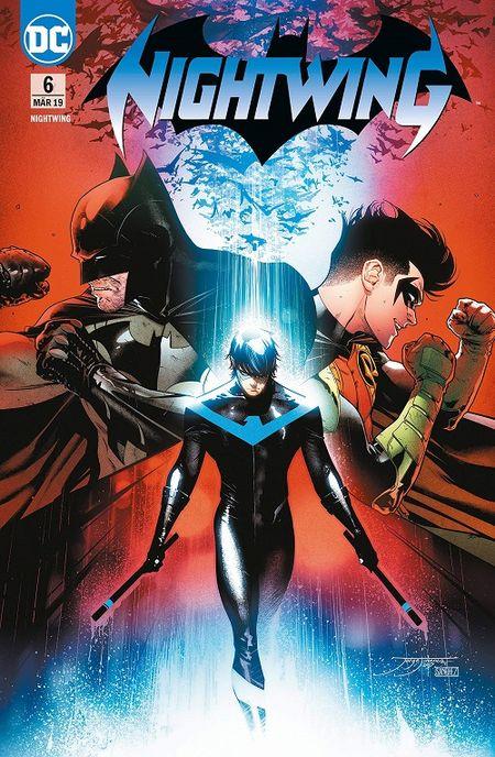 Nightwing (Rebirth) 6: Der Unberührbare  - Das Cover