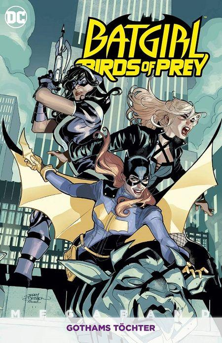 Batgirl – Birds of Prey Megaband 2: Gothams Töchter - Das Cover