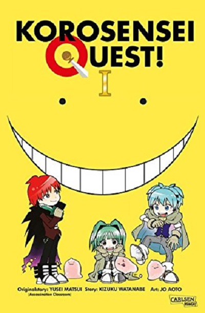 Korosensei Quest 1 - Das Cover