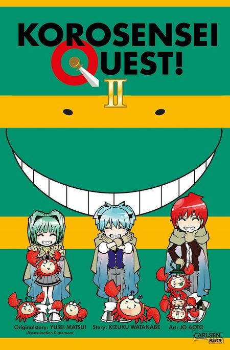 Korosensei Quest 2 - Das Cover