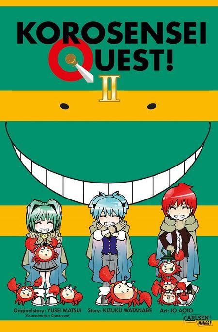 Korosensei Quest 2 - Das Cover