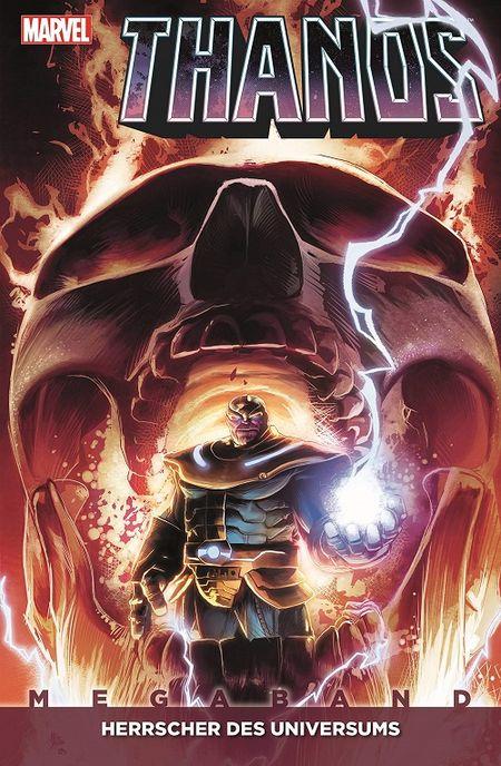 Thanos Megaband 2: Herrscher des Universums  - Das Cover