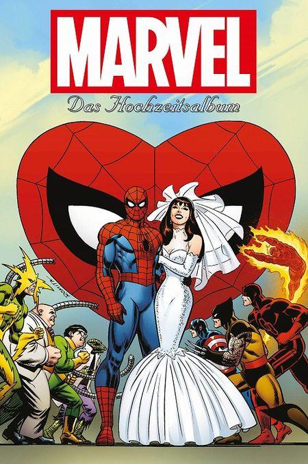 Marvel - Das Hochzeitsalbum  - Das Cover