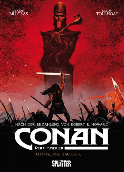 CONAN - Der Cimmerier Bd. 2: Natohk, der Zauberer - Das Cover