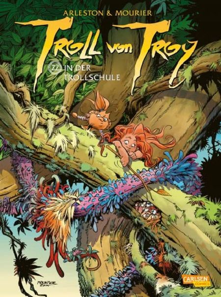 Troll von Troy 22: In der Trollschule - Das Cover