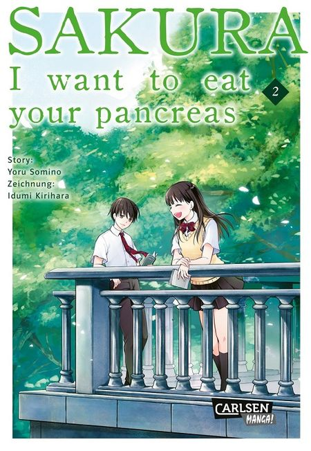 Sakura – I Want to eat your pancreas 2 - Das Cover