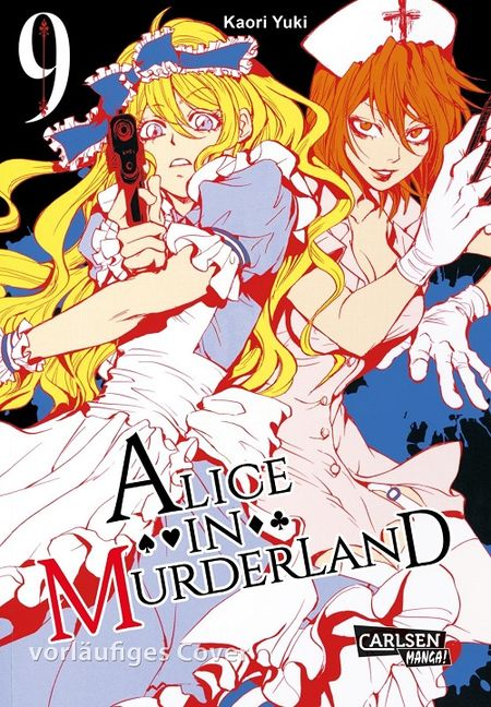 Alice in Murderland 9 - Das Cover