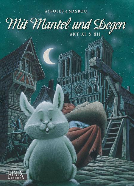 Mit Mantel und Degen Akt III & IV - Das Cover