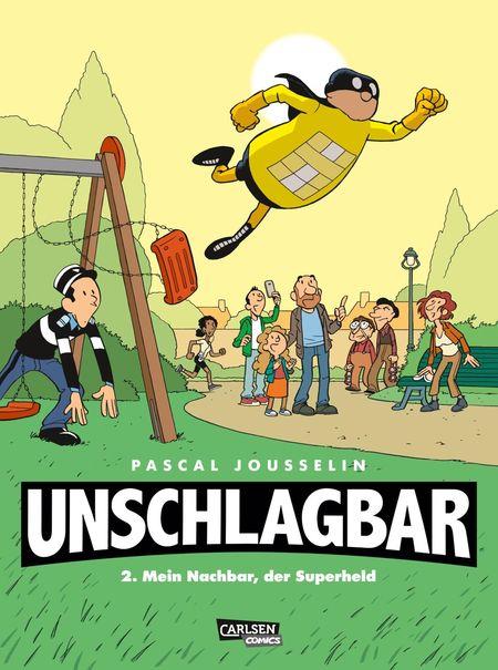 Unschlagbar 2 – Mein Nachbar, der Superheld - Das Cover