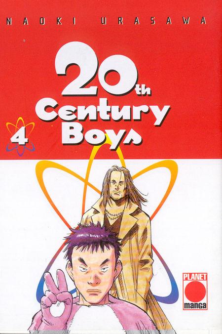 20th Century Boys 4 - Das Cover