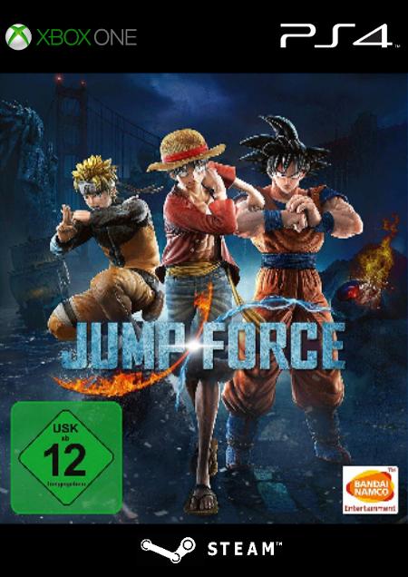 Jump Force - Der Packshot