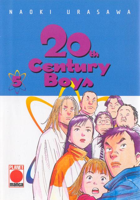 20th Century Boys 5 - Das Cover