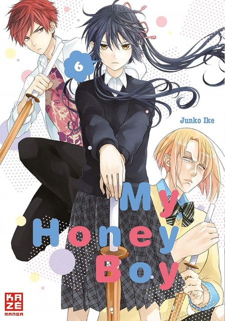 My Honey Boy 6 - Das Cover