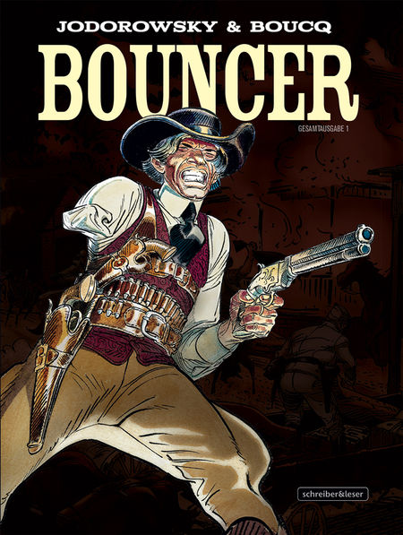 Bouncer Gesamtausgabe 1  - Das Cover