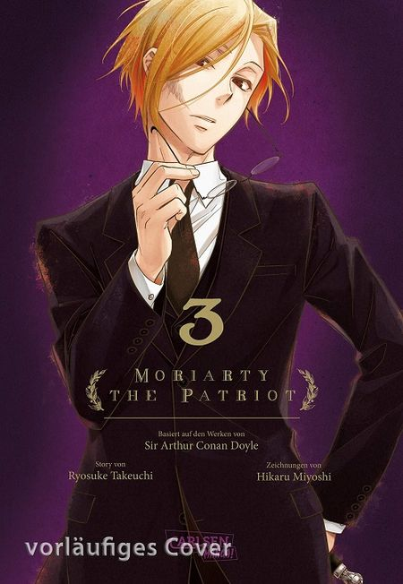 Moriarty the Patriot 3 - Das Cover