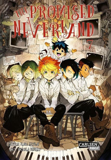 The Promised Neverland 7 - Das Cover