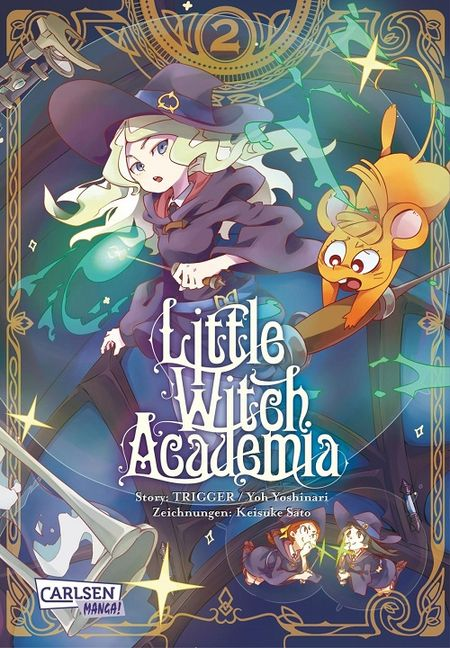Little Witch Academia 2 - Das Cover