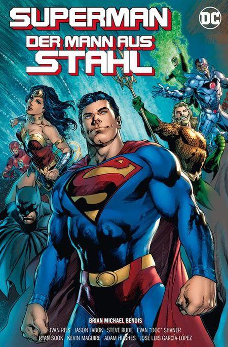 SUPERMAN - DER MANN AUS STAHL - Das Cover
