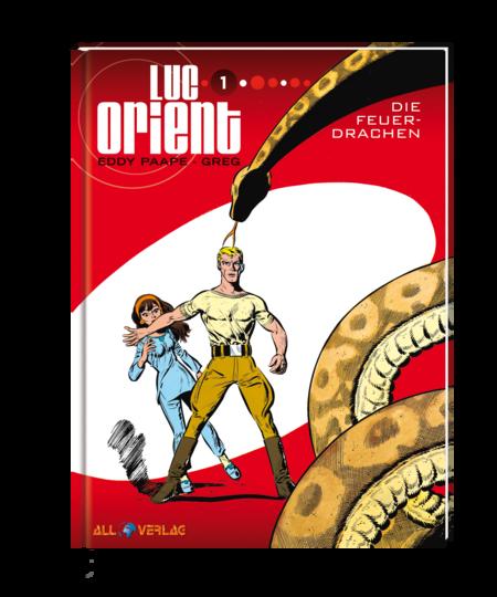 Luc Orient 1: Die Feuerdrachen - Das Cover