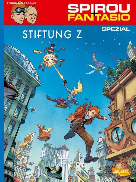 Spirou und Fantasio Spezial 27 - Das Cover