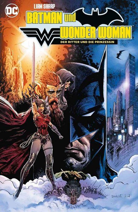 Batman und Wonder Woman: Der Ritter und die Prinzessin  - Das Cover