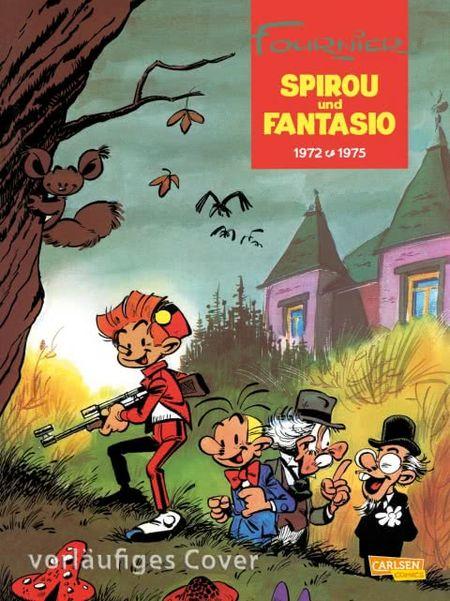 Spirou und Fantasio 10: 1972-1975 - Das Cover