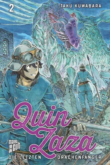 Quin Zaza – Die letzten Drachenfänger 2 - Das Cover