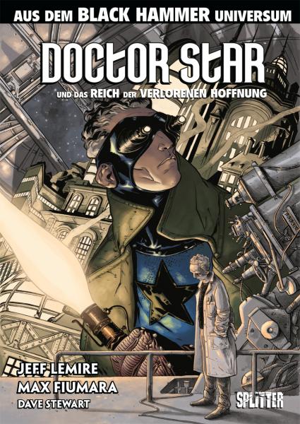 DOCTOR STAR UND DAS REICH DER VERLORENEN HOFFNUNG - Das Cover
