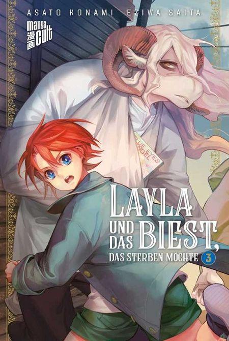 Layla und das Biest, das sterben möchte 3 - Das Cover
