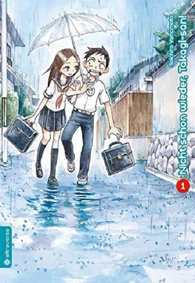 Nicht schon wieder, Takagi-san! 1 - Das Cover
