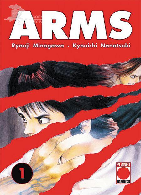 Arms 1 - Das Cover