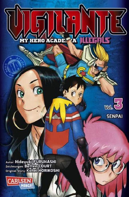 Vigilante – My Hero Academia Illegals 3 - Das Cover
