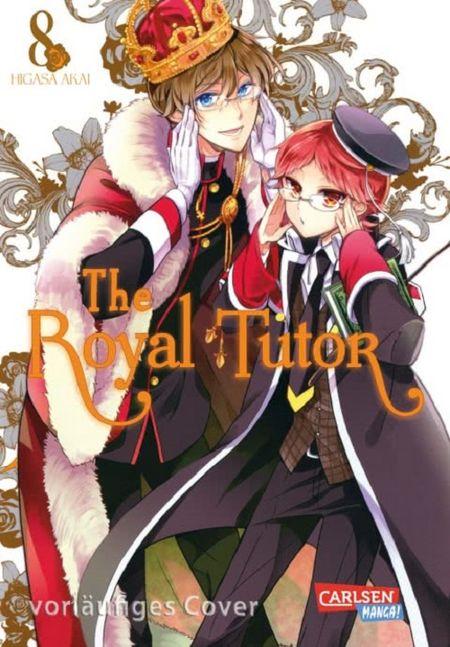 The Royal Tutor 8 - Das Cover