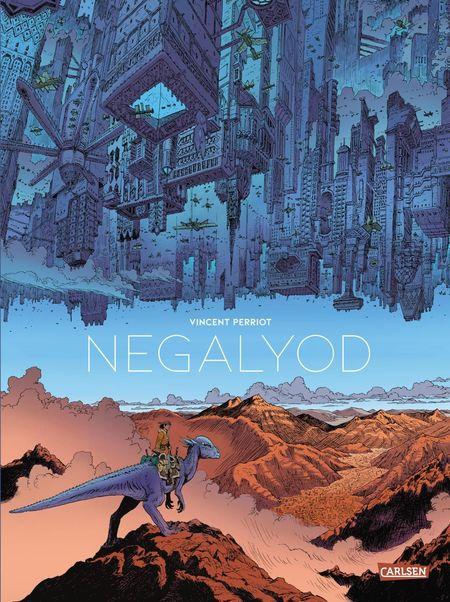 Negalyod - Das Cover