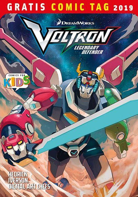 Voltron – Legendärer Verteidiger – Gratis Comic Tag 2019 - Das Cover