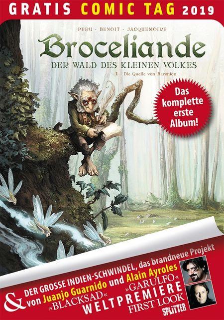 Broceliande – Der Wald des kleinen Volkes – Gratis Comic Tag 2019 - Das Cover